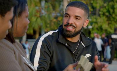 Drake cuore d'oro decide di regalare un milione di dollari invitando a fare buone azioni