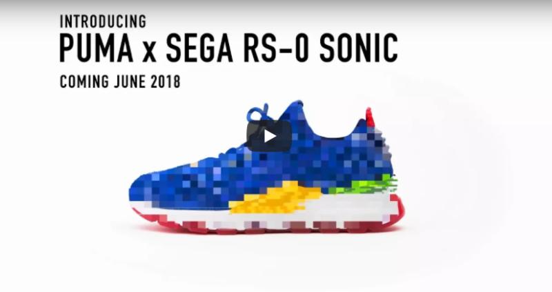 Sneaker SEGA x Puma RS-0 Sonic in uscita a giugno.