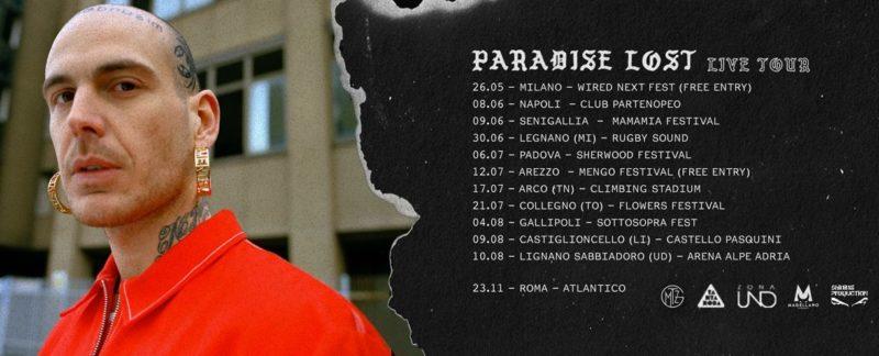 Gemitaiz Le Date Del Paradise Lost Live Tour