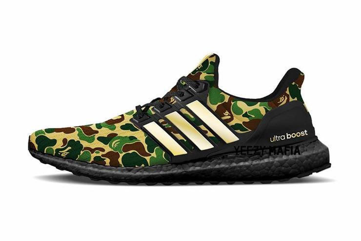BAPE x Adidas nuova collaborazione  UltraBoost 88e044a16