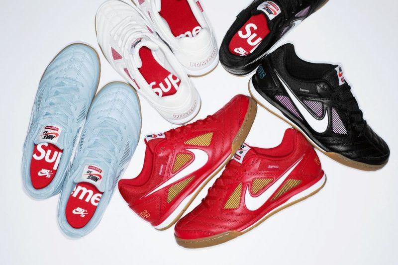 hot sale online bd0da e42e7 Annunciati i dettagli della release Supreme x Nike SB Gato Collection