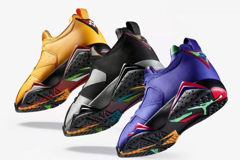 Un trio di Air Jordan 7