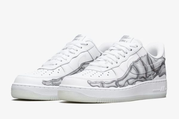 Nike Air Force 1 Skeleton a tema Halloween-2