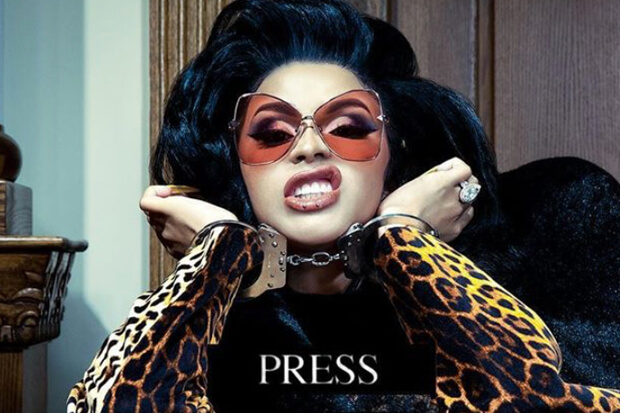 Cardi B Press copertina